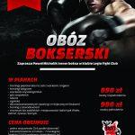 Letni obóz bokserski 16-23.08.2020